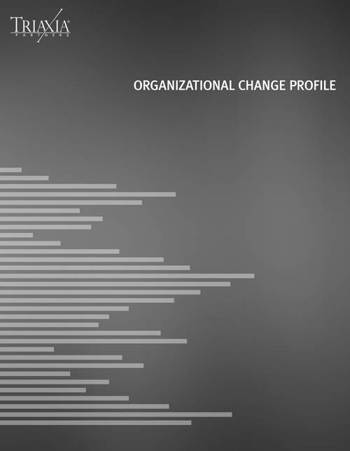 Organizational Change Profile Cover