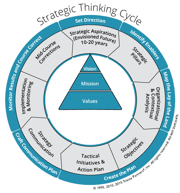 Triaxia Partners Strategic Thinking Model